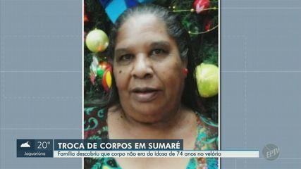 Funerária, troca, corpo de idosa e família descobre durante velório em Campinas