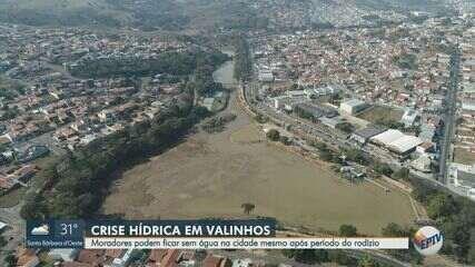 Valinhos perde 40% da capacidade de abastecimento de água