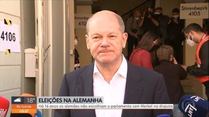 Eleições na Alemanha: Partido Social-Democrata ficou em 1º lugar, mas não conseguiu maioria