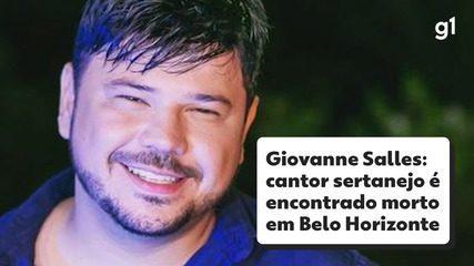 Giovanne Salles: cantor sertanejo é encontrado morto dentro de carro em Belo Horizonte