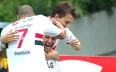 O gol de São Paulo 1 x 0 Palmeiras pela 17ª rodada do Paulistão 2009