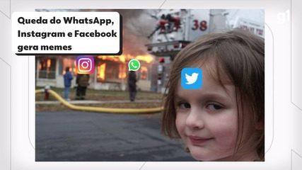 Queda do WhatsApp, Instagram e Facebook gera memes