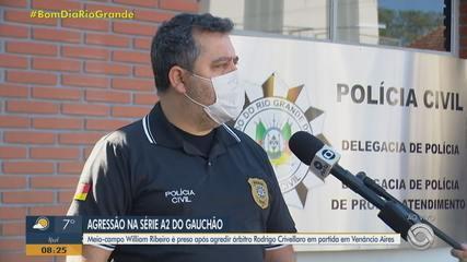 Il delegato parla di aggressione in una valida partita di seconda divisione del Gaucho