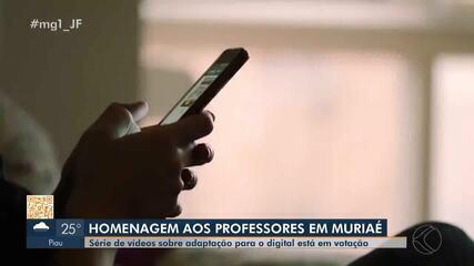 Dia dos Professores: ensino digital é abordado em concurso da Prefeitura de Muriaé