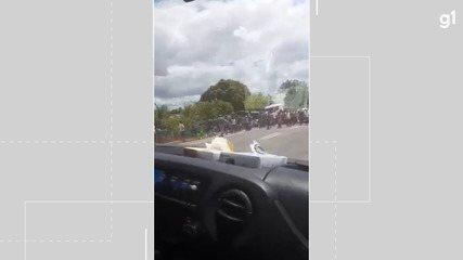 Acidente é registrado na BR-101 no trecho de Caravelas, sul da Bahia