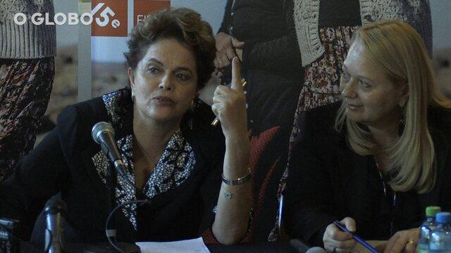 Em Genebra, Dilma nega ter recebido propinas