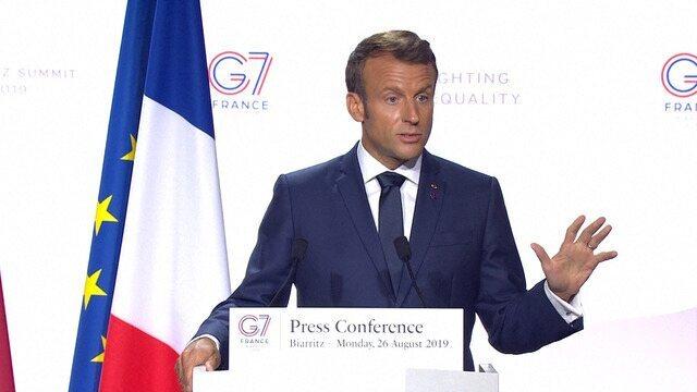 Presidente francês afirmou que comentário de Bolsonaro sobre a mulher dele foi desrespeitoso