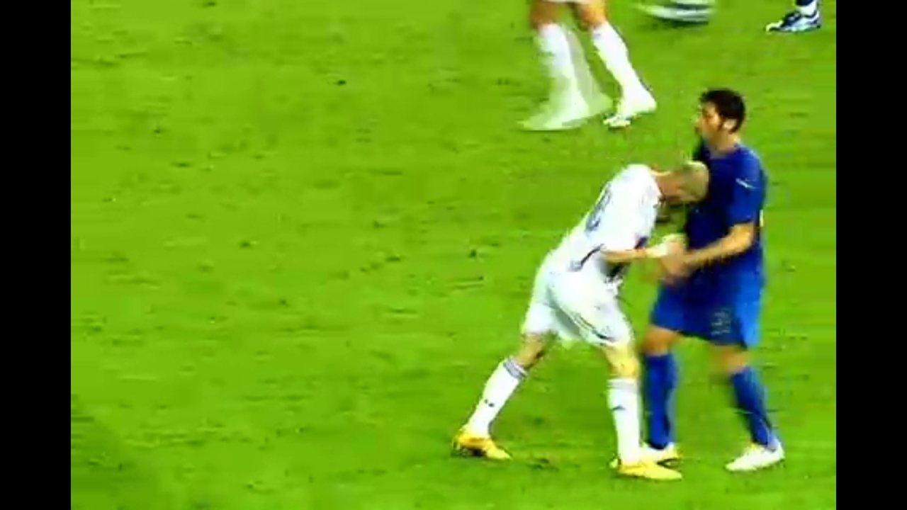 Cabeçada de Zidane sela o destino da França em 2006