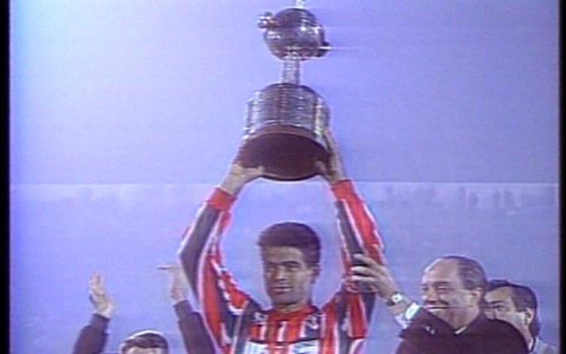 Em 1993, São Paulo conquista a Taça Libertadores contra o Universidad Catolica do Chile