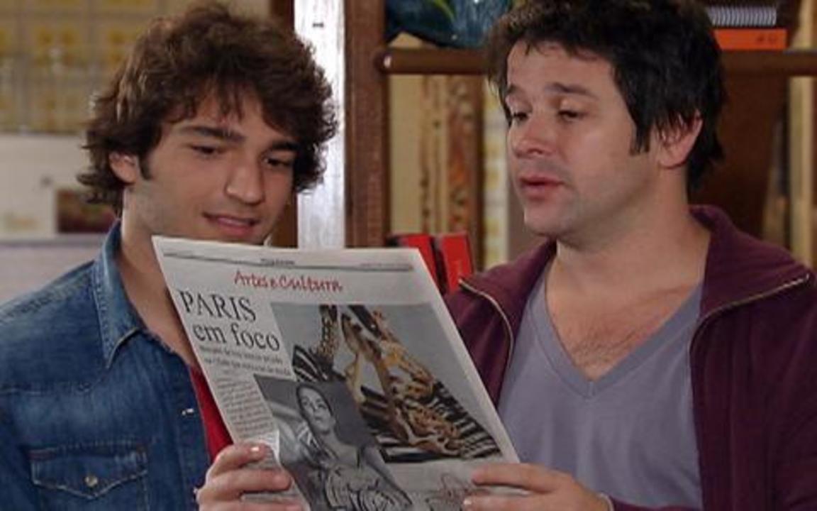 Ti-ti-ti - capítulo de segunda feira, dia 20/09/2010, na íntegra - Ariclenes afirma que a guerra contra Jacques Leclair começou