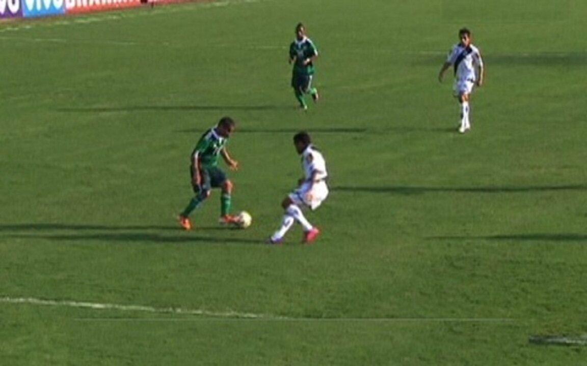 Veja o único gol de Max Pardalzinho pelo Palmeiras