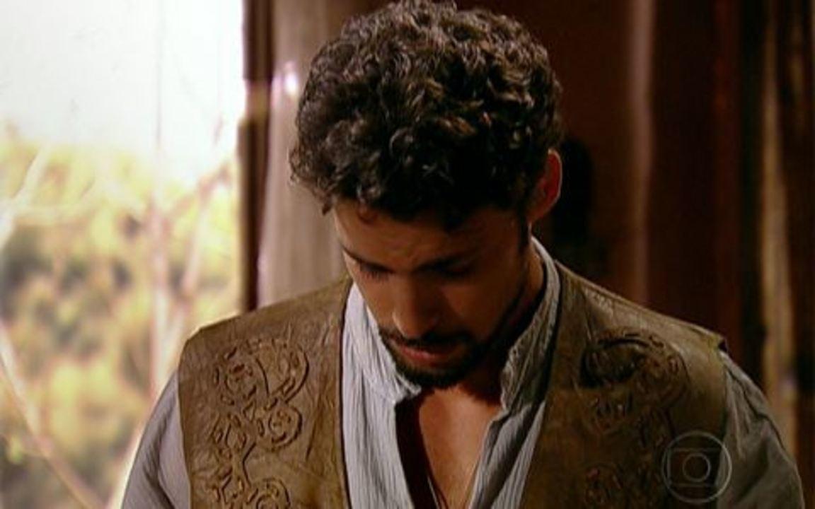 Capítulo de 21/04/2011 - Açucena flagra Dora e Jesuíno se beijando e vai para um convento. Herculano coloca seus capangas atrás da princesa. Jesuíno fica arrasado ao receber o anel de noivado de volta.