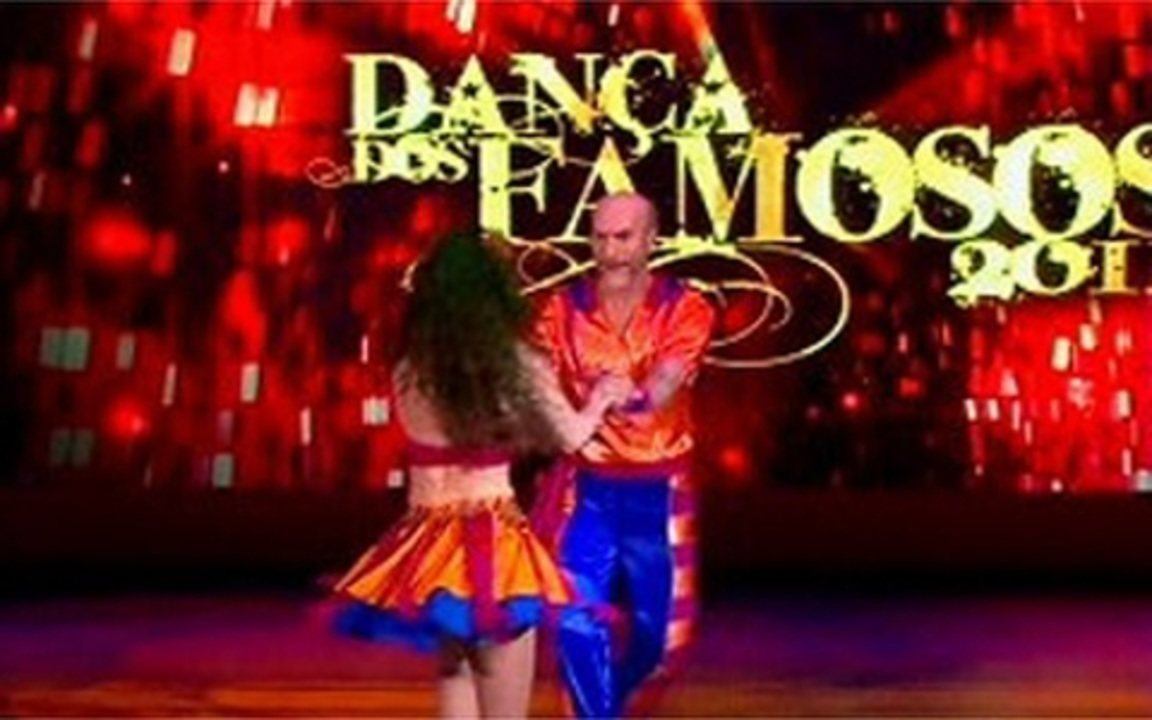 Dança dos famosos: Odilon Wagner na lambada