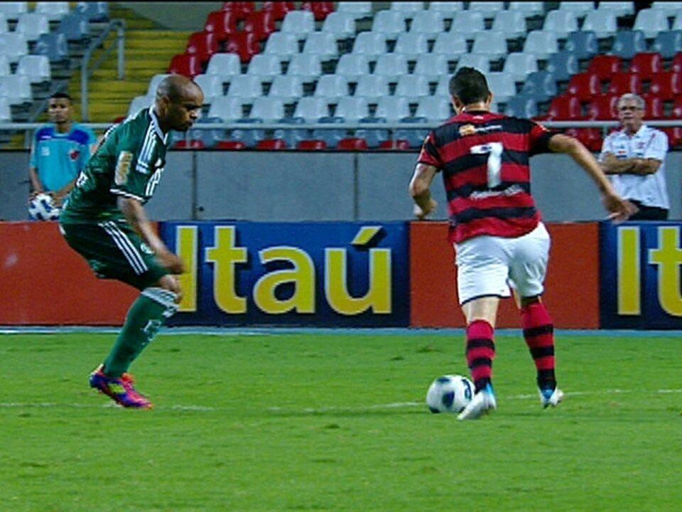 Flamengo 1 x 1 Palmeiras pela 29ª rodada do Brasileirão 2011