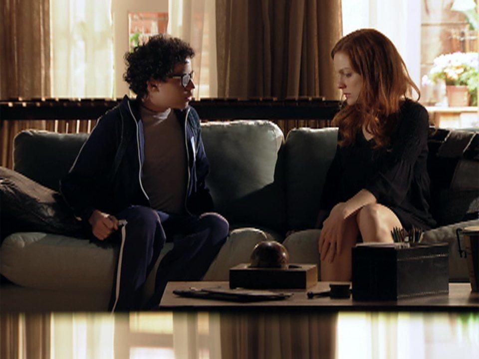 A Vida da Gente - capítulo de segunda-feira, dia 16/01/2012, na íntegra - Nanda conta para Francisco que ele vai morar com o avô
