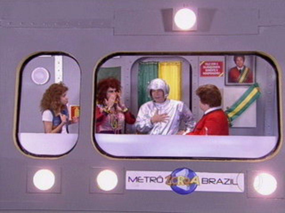 Zorra total val ria e janete interrompem fala de dil - La maquinista metro ...
