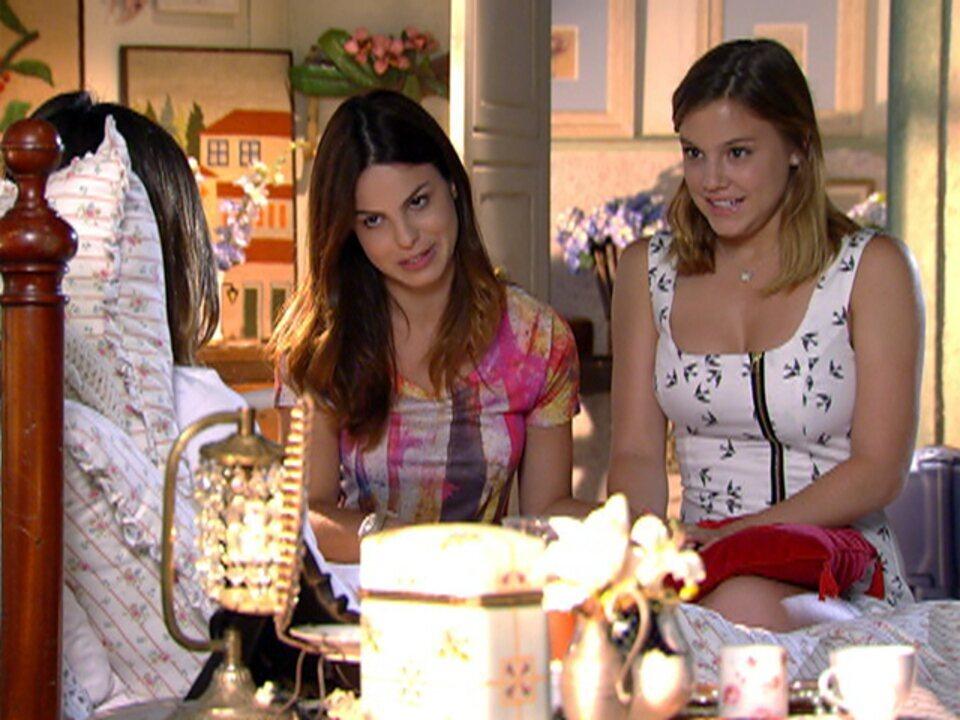 A Vida da Gente - Capítulo de quinta-feira, 23/02/2012, na íntegra - Sofia tenta convencer Ana a voltar a treinar