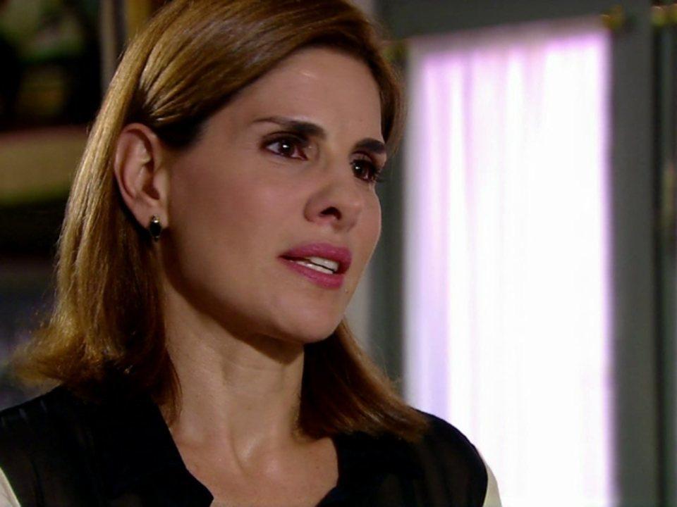 Malhação - Capítulo de Terça-feira, 10/07/2012, na íntegra - Carmem conta para Laura que teve um filho com Luís Avelar