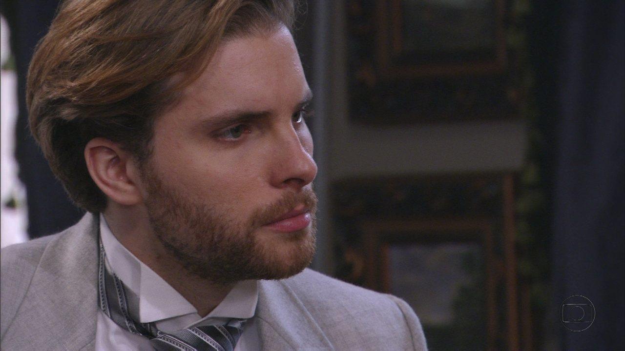 Lado a Lado, capítulo de quinta-feira, dia 20/09/2012, na íntegra - Edgar diz a Laura que foi apaixonado por outra mulher