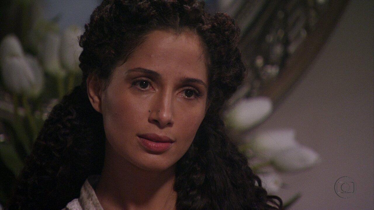 Lado a Lado, capítulo de sexta-feira, dia 05/10/012, na íntegra - Isabel enfrenta Constância na casa de Laura