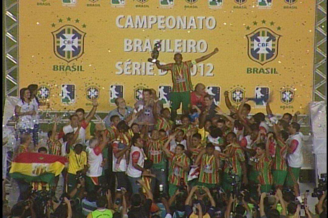 Sampaio vence o Crac e é campeão da Série D