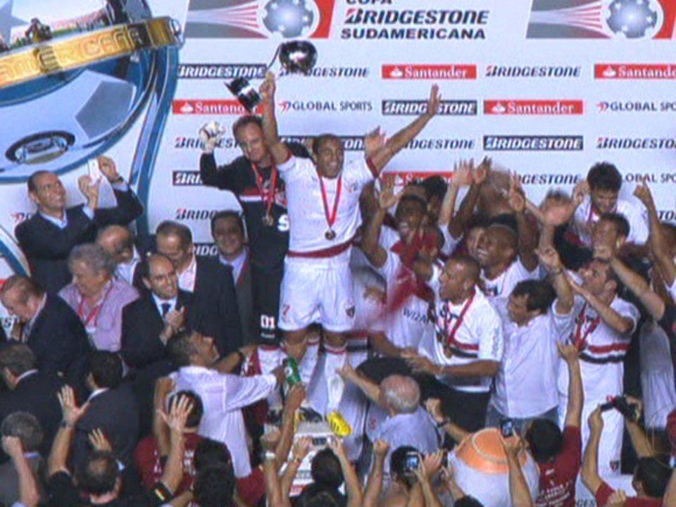 São Paulo é campeão da Copa Sul-Americana