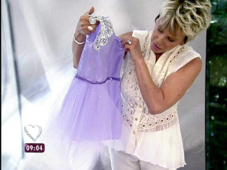 d3ea55516 Mais Você | Ana Maria ensina a transformar vestidos básicos em roupas de  princesa | Globoplay