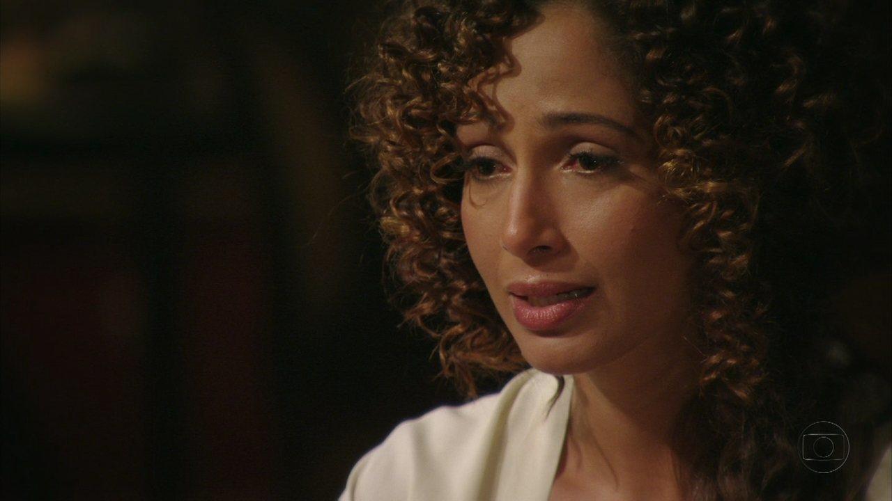 Lado a Lado - capítulo de segunda-feira, dia 21/01/2013, na íntegra - Isabel revela a Elias que é sua mãe