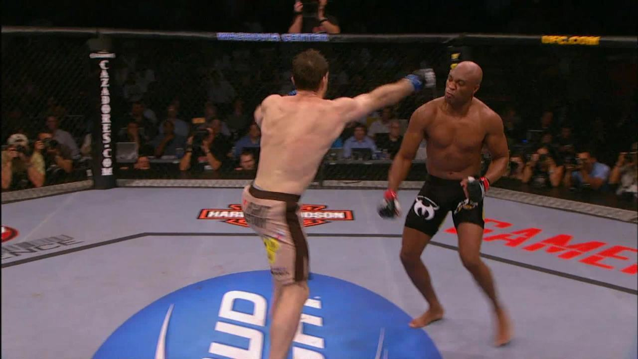 UFC 101 - Anderson Silva X Forrest Griffin