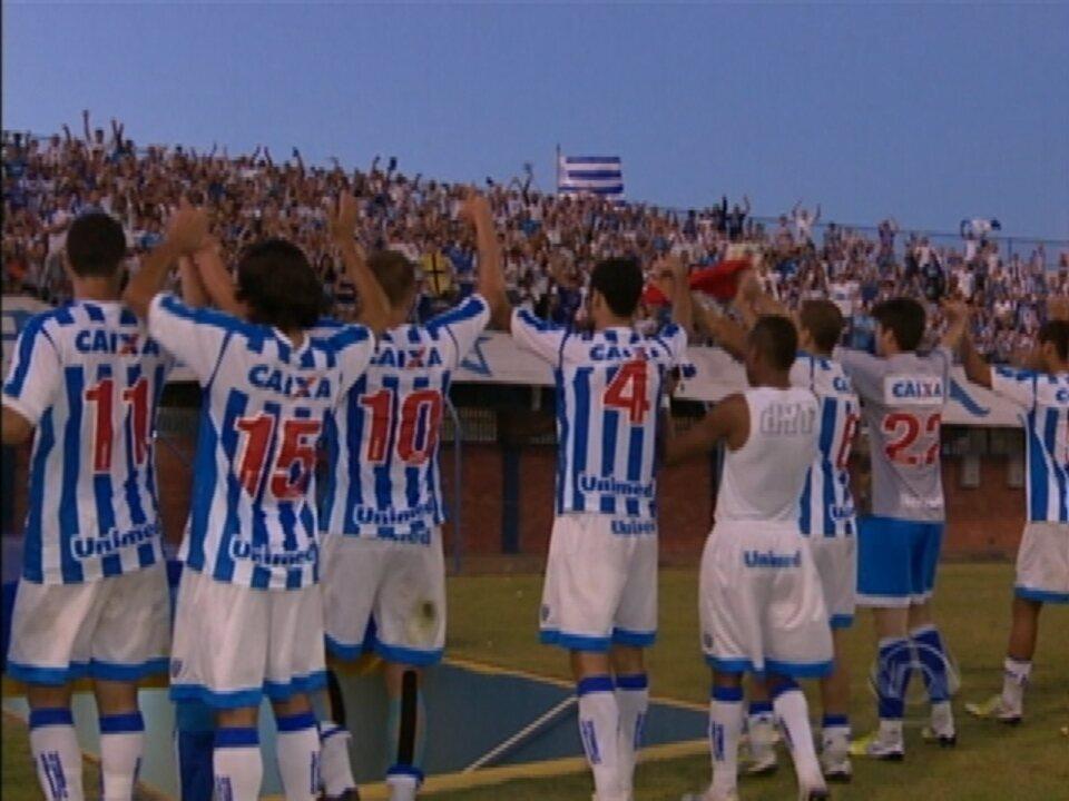 Em um duelo emocionante, Avaí leva a melhor na primeira semifinal diante do Criciúma