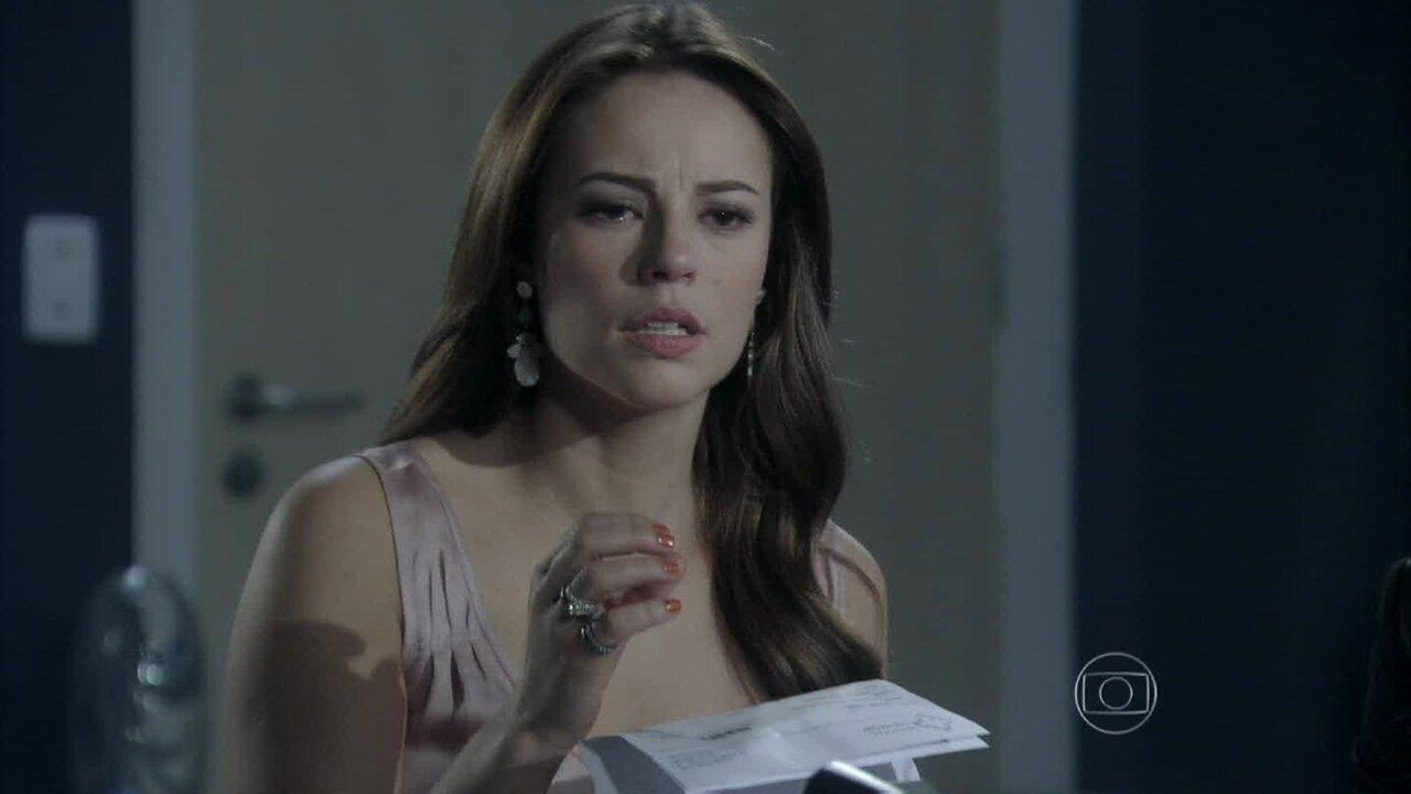 Amor à Vida - Capítulo de segunda-feira, dia 17/06/2013, na íntegra - Paloma pede para fazer um teste de DNA em Paulinha