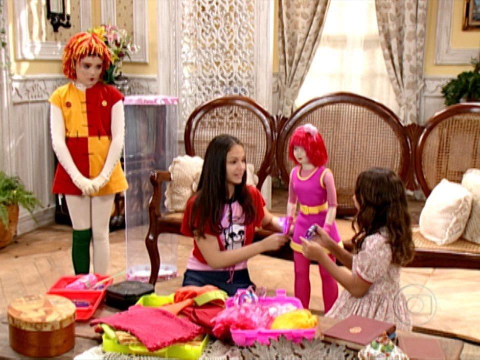 Sítio do Picapau Amarelo - 2ª versão (2005): Emília sente ciúme da nova boneca