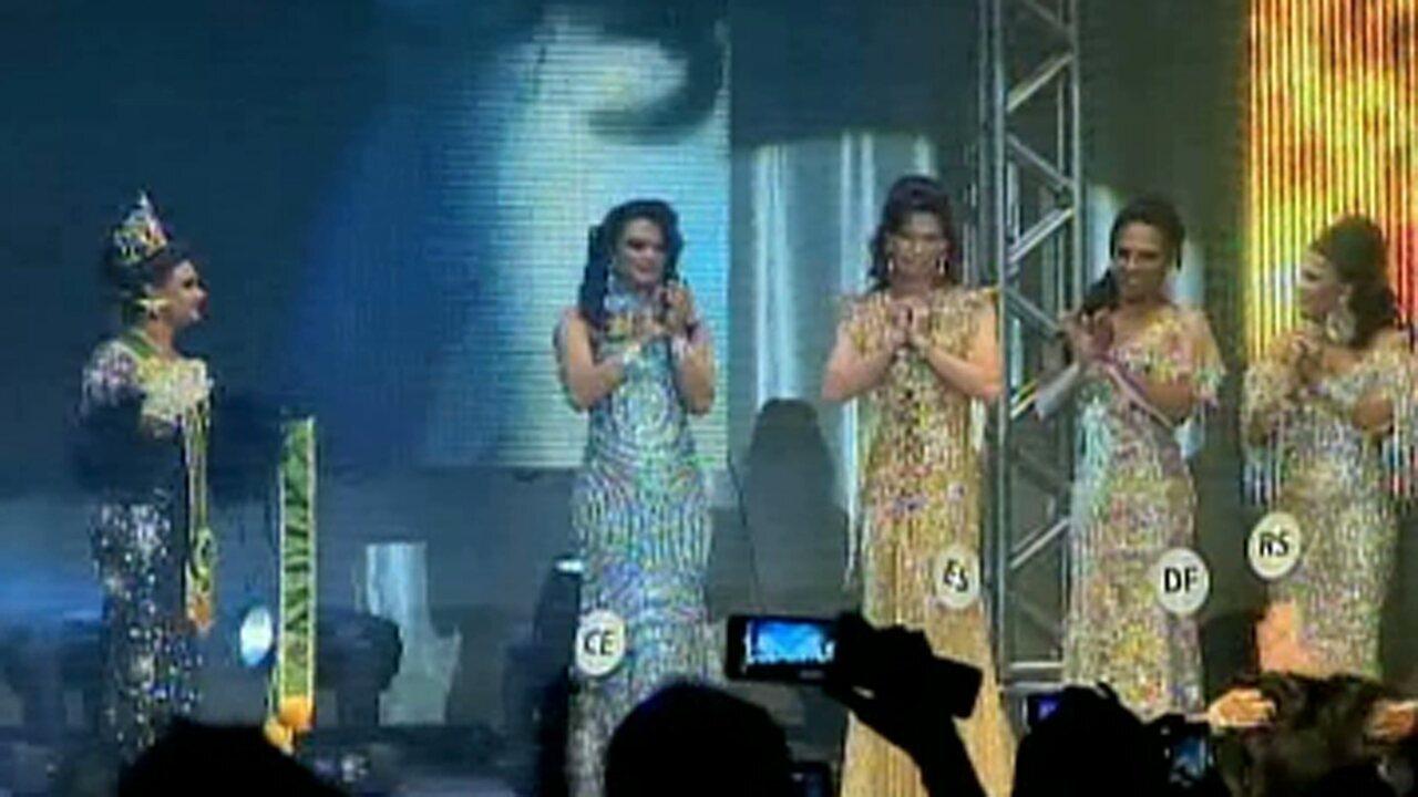 Representante do Espírito Santo foi eleita Miss Brasil Gay em 2013