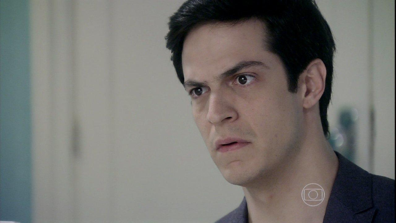Amor à Vida - capítulo de sexta-feira, dia 04/10/2013, na íntegra - Félix convence Pilar a ficar contra Paloma