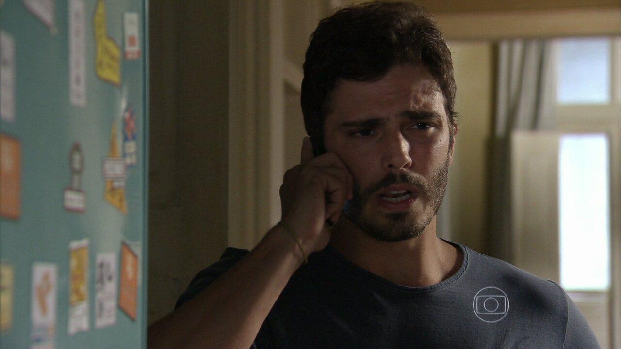 Alem do Horizonte - capítulo de quarta-feira, dia 06/11/2013, na íntegra - William marca um encontro com Lili
