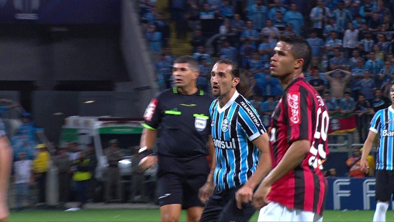 Melhores momentos de Grêmio 0 x 0 Atlético-PR pela semifinal da Copa do Brasil