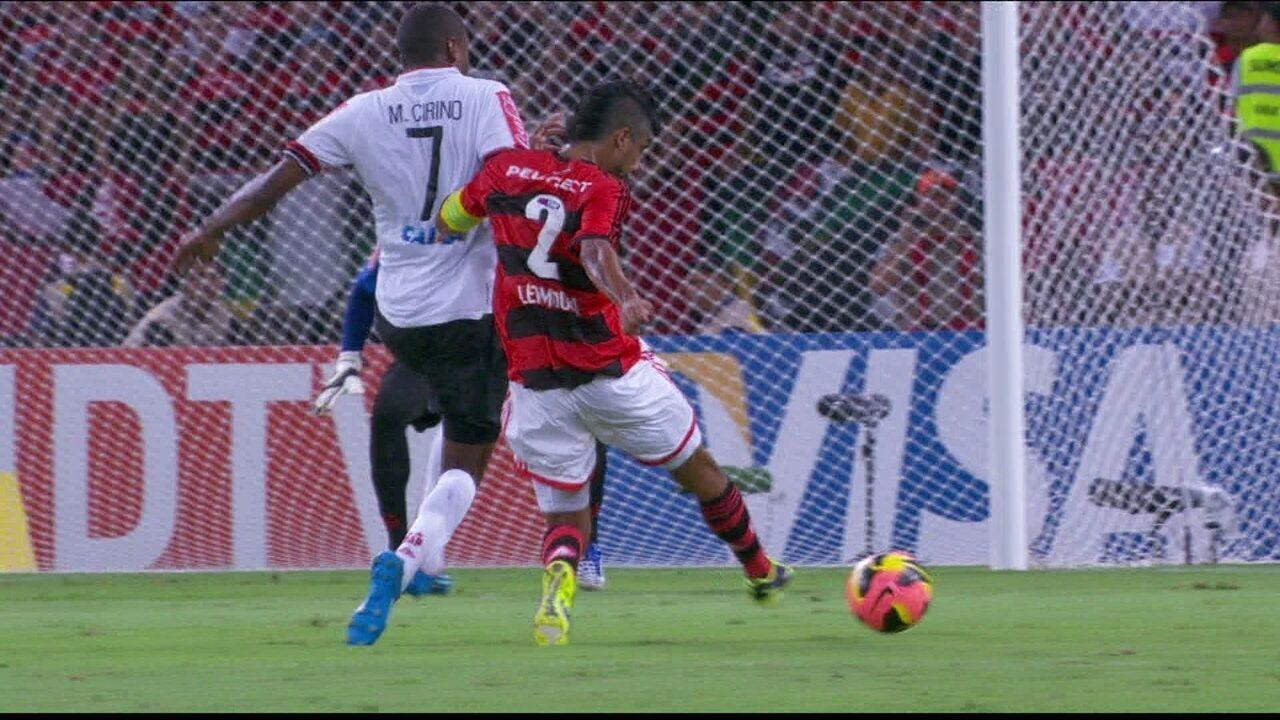 Melhores momentos: Flamengo 2 x 0 Atlético-PR pela final da Copa do Brasil 2013