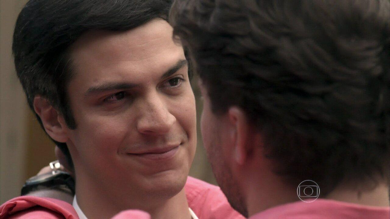 Félix afirma que Niko mudou a sua vida