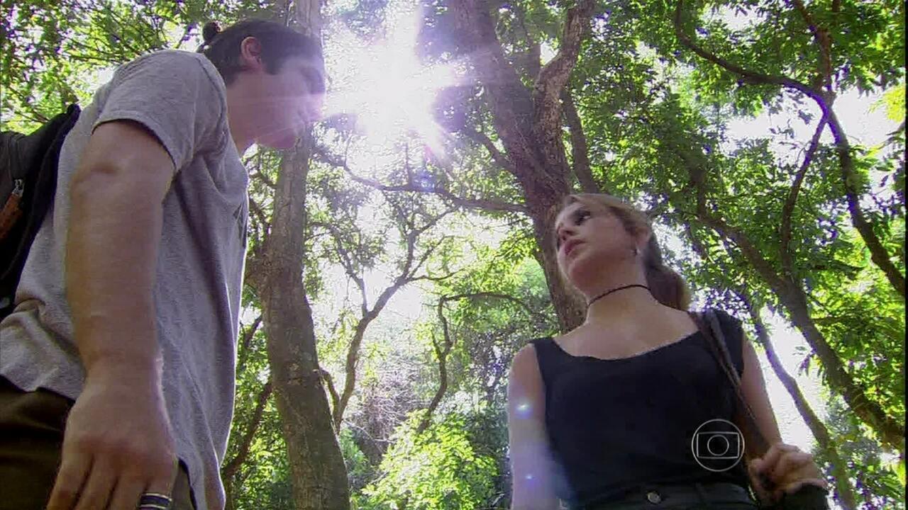 Malhação - Capítulo de sexta-feira, dia 14/02/2014, na íntegra - Anita afirma a Antônio que precisa ficar sozinha