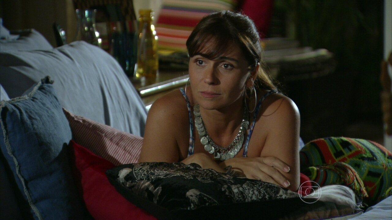 Em Família - Capítulo de sexta-feira, dia 07/03/2014, na íntegra - Clara reclama de Cadu para Helena