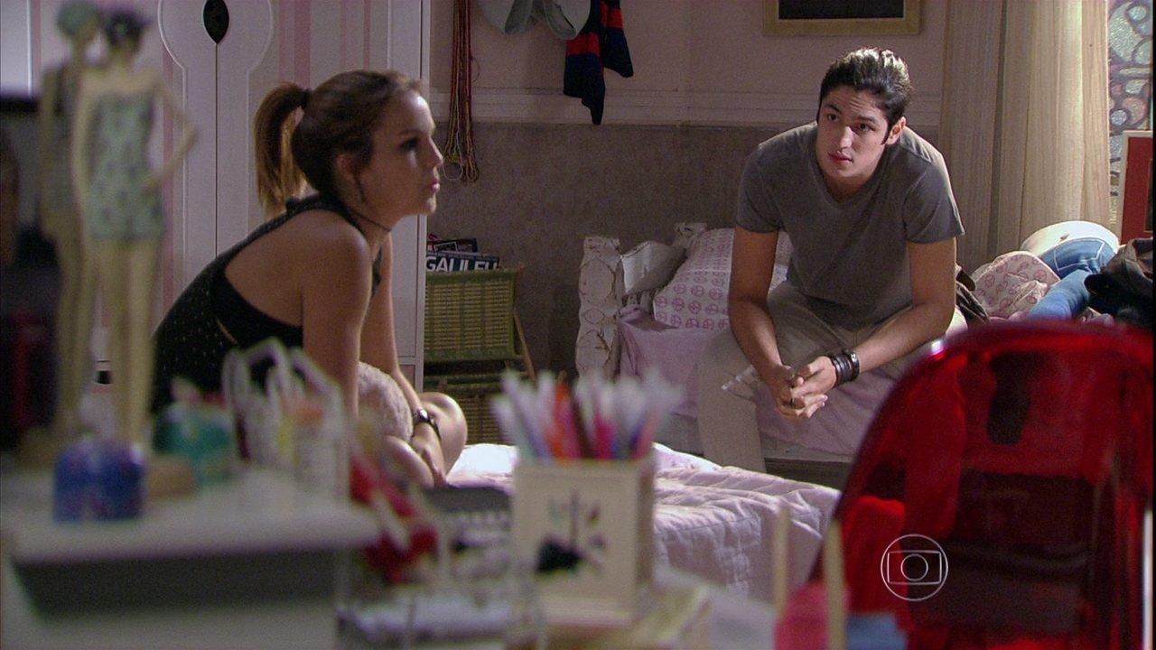 Malhação - Capítulo de segunda-feira, dia 10/03/2014, na íntegra - Antônio pede Anita em noivado