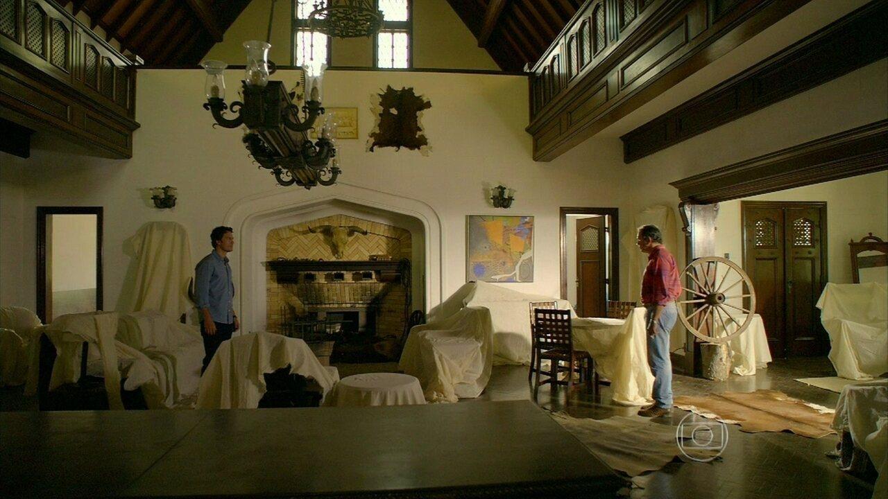 Em Família - Capítulo de quinta-feira, 20/03/2014, na íntegra - Laerte e Virgílio se encontram em Goiânia