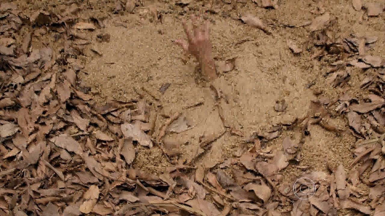 Além do Horizonte - capítulo de sexta-feira, dia 28/03/2014, na íntegra - William e Tereza não conseguem resgatar Hermes da lama