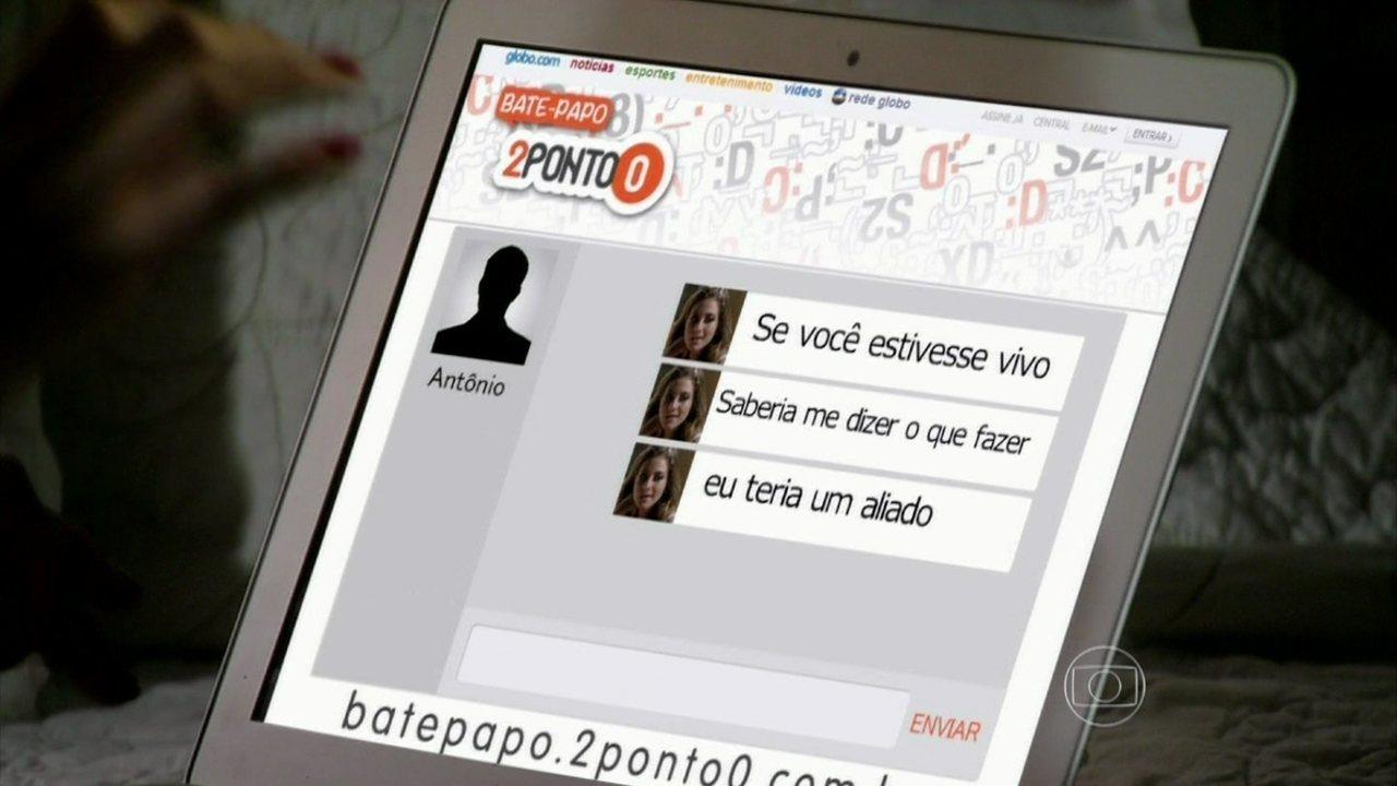 Malhação - Capítulo de sexta-feira, dia 23/05/2014, na íntegra - Sofia envia o vídeo de sua briga com Anita para o perfil de Antônio na rede social
