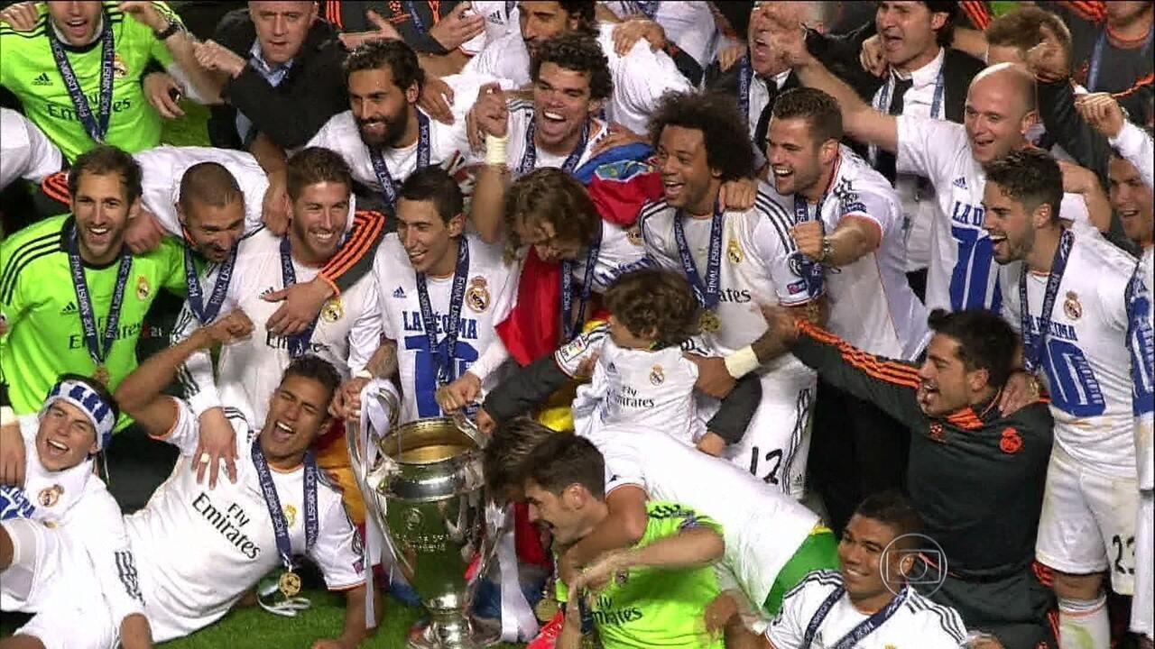 Em partida emocionante, Real Madrid vence Atlético de Madrid e conquista Liga dos Campeões 2013/14