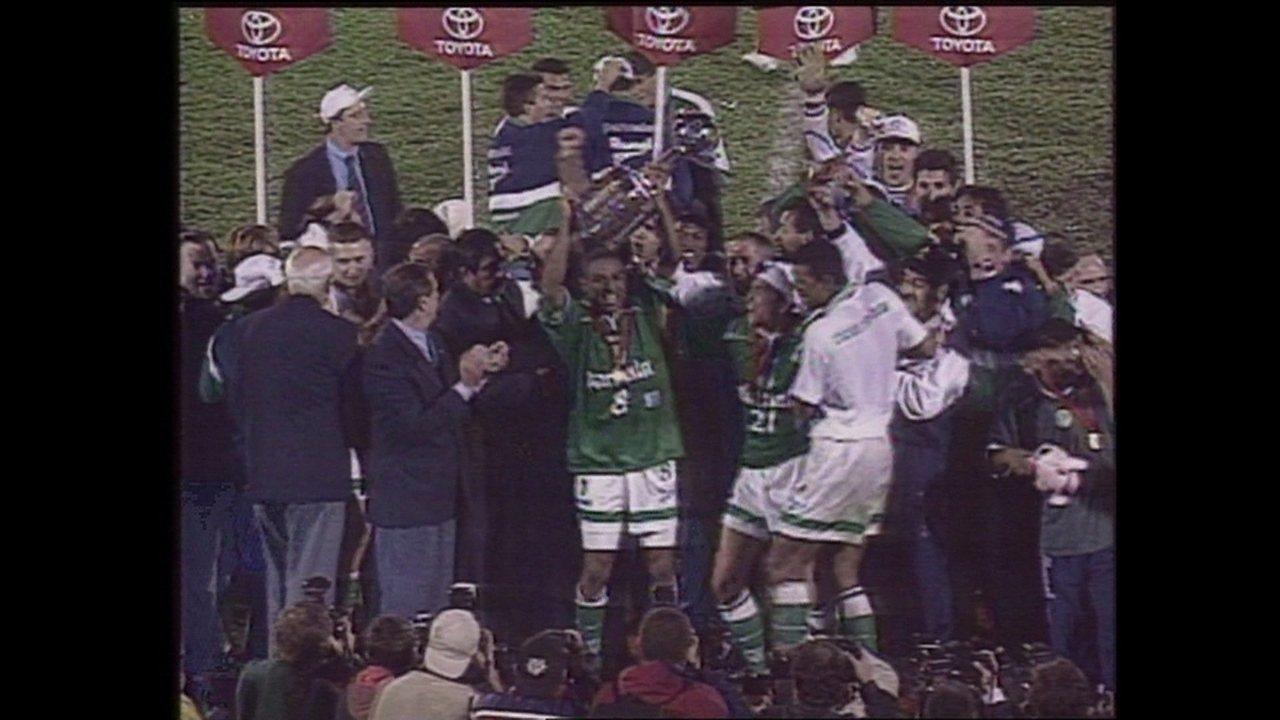 Em 1999, Palmeiras vence o Deportivo Cali nos pênaltis e é campeão da Libertadores