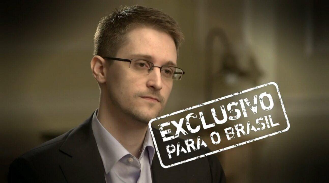 Fantástico   Sônia Bridi entrevista Edward Snowden na Rússia   Globoplay