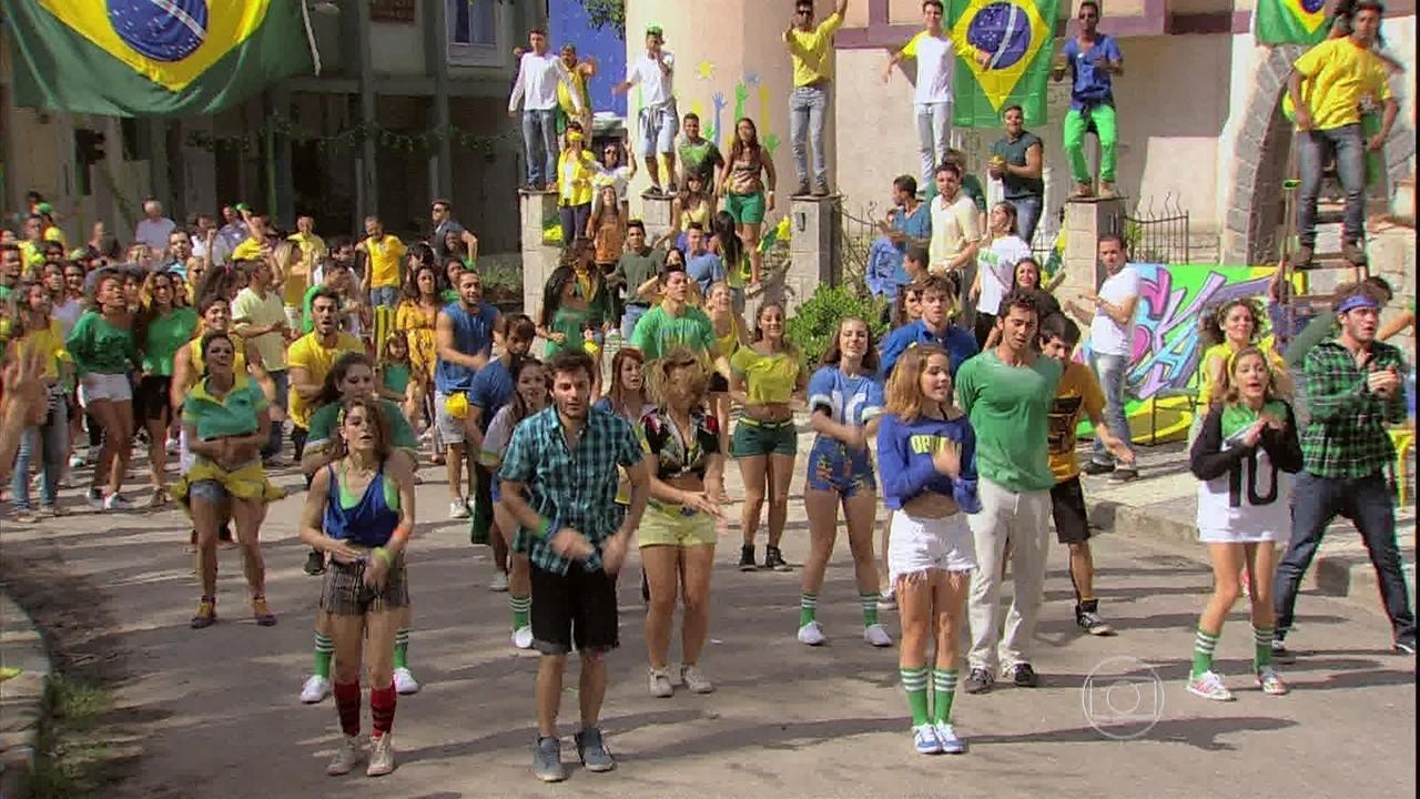 Malhação - Capítulo de quarta-feira, dia 11/06/2014, na íntegra - A temporada termina em festa!