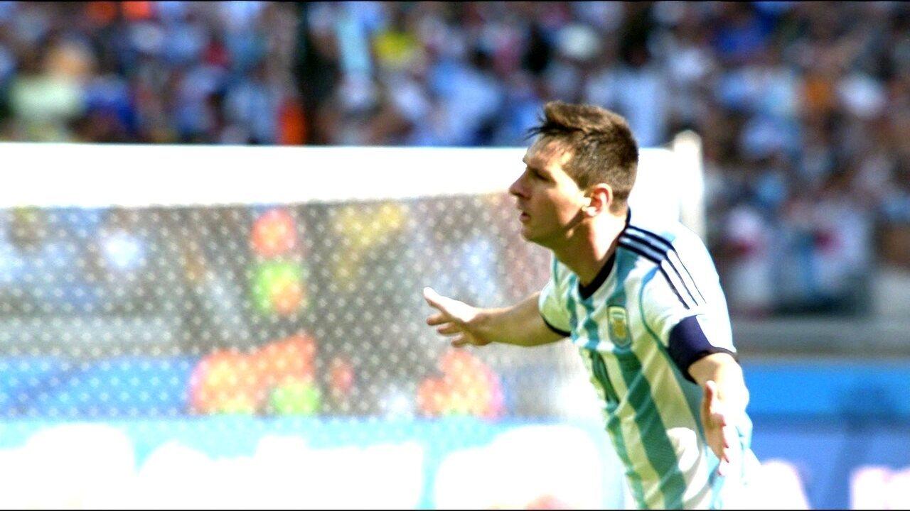 No embalo da torcida argentina, Messi fura retranca e derruba Irã pela Copa do Mundo