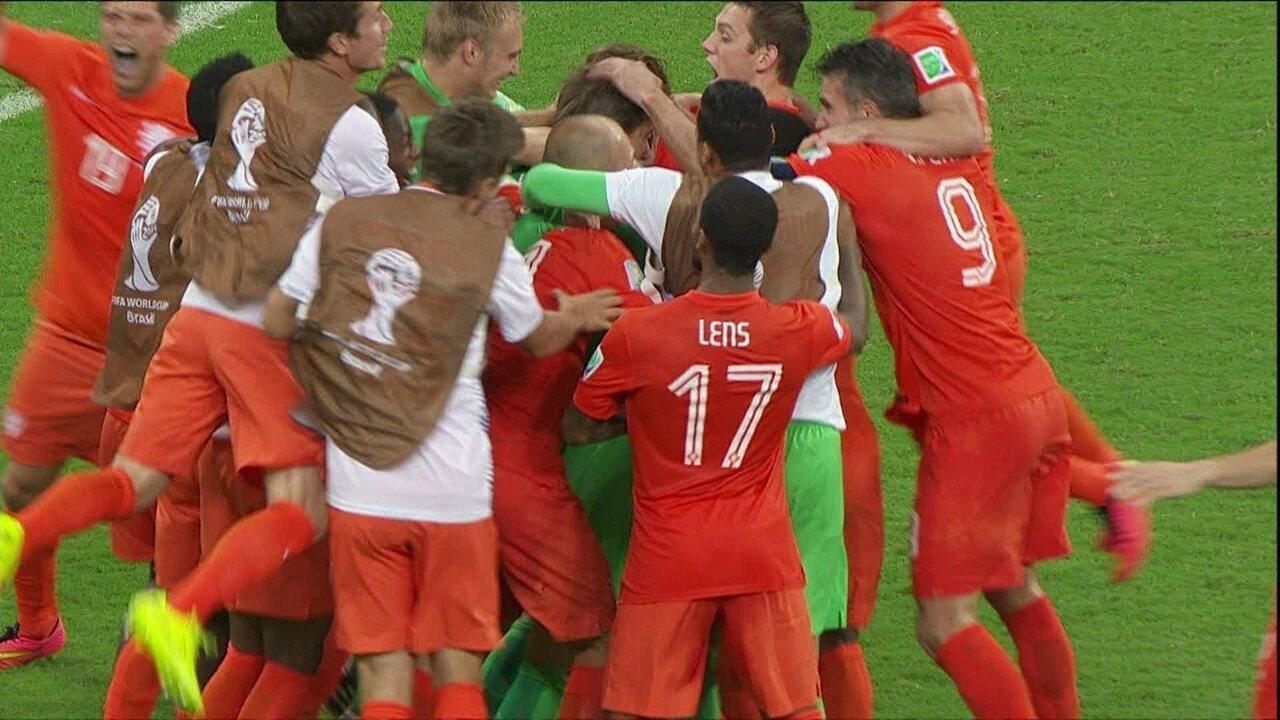 Na última Copa, a Costa Rica foi até as quartas, mas parou nos pênaltis para a Holanda